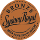 Bronze Medal Winner|Minced or Chop Product in Casing category Sydney Royal Fine Food Show 2014